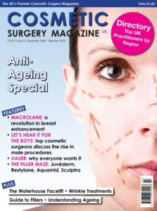 Sol Cosmedics on Cosmetics Surgery Magazine Directory
