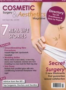 Sol Cosmedics on Cosmetics Surgery & Aesthetics Magazine